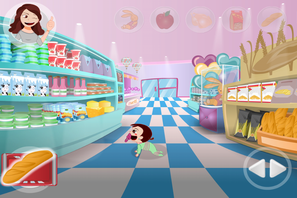 Screenshot Clara Supermarket
